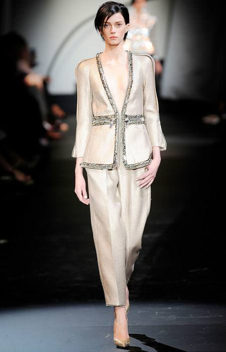 Armani Privé, alta costura, moda otoño invierno 2009 2010