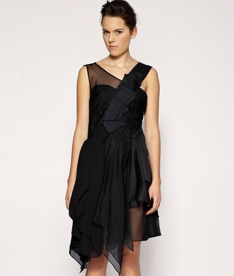 Vestidos asimétricos de fiesta (otoño invierno 2010 2011) hspace=
