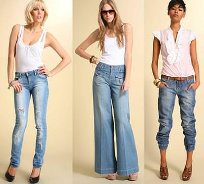 tendencias primavera verano 2009, los jeans, vaqueros