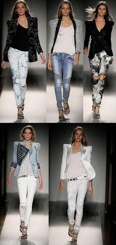 Balmain jeans, primavera verano 2009