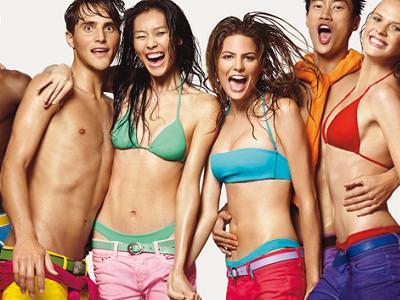 bikinis verano 2009 de Benetton