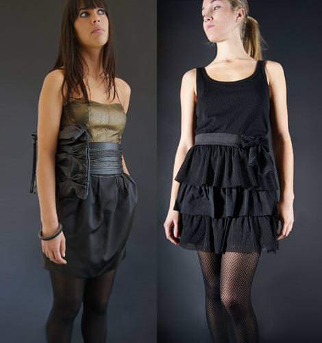 Vestidos y looks de Nochevieja de Bershka
