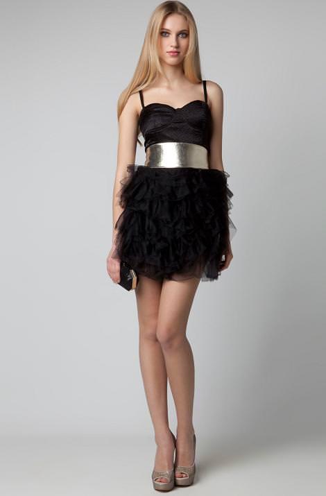 Bershka colección de fiesta 2011 201, looks y vestidos de Nochevieja