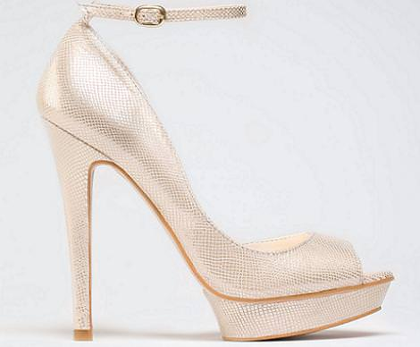 Zapatos de fiesta de Bershka