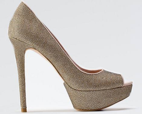 Zapatos de fiesta de Bershka del otoño 2011