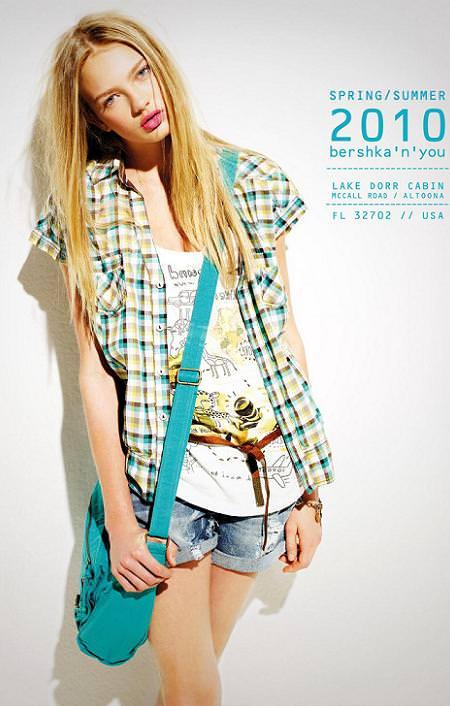 Bershka, moda primavera verano 2010