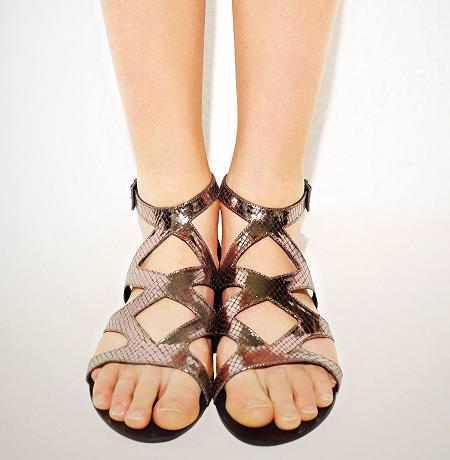 Las sandalias de Bershka, de la primavera verano 2010