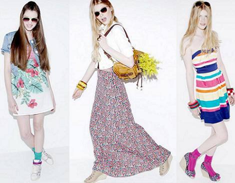 Vestidos de Bershka, primavera verano 2011