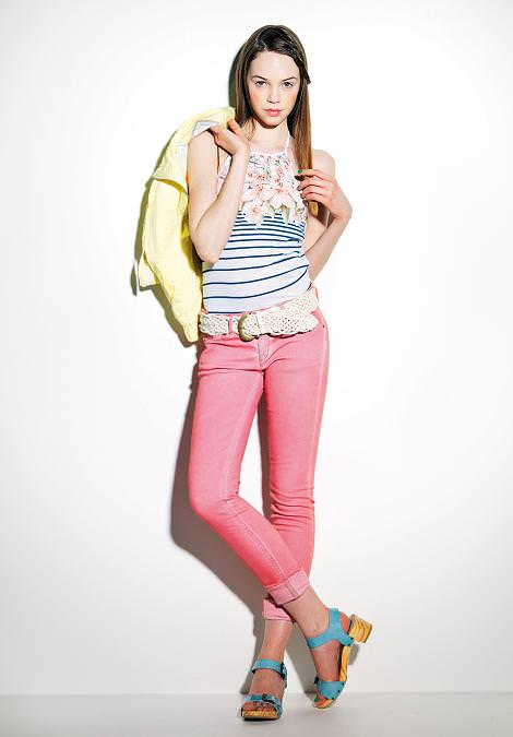 Tendencias primavera 2011: pantalón rosa