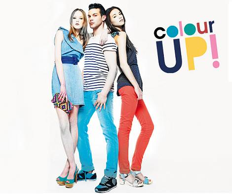 Bershka primavera 2011: color up