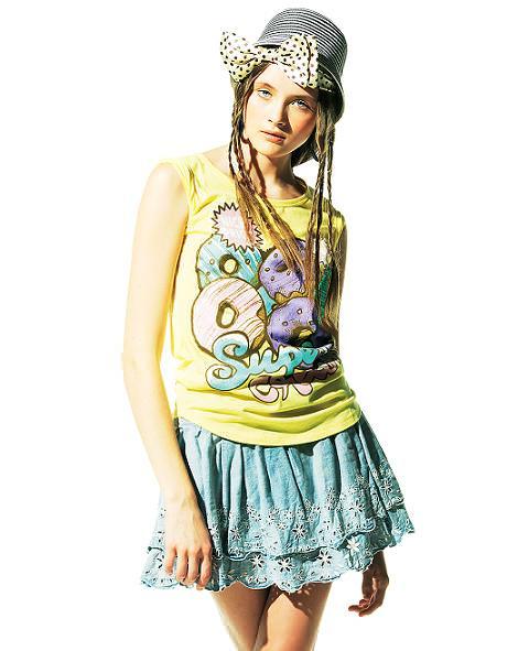 Bershka ropa y looks de la primavera 2011