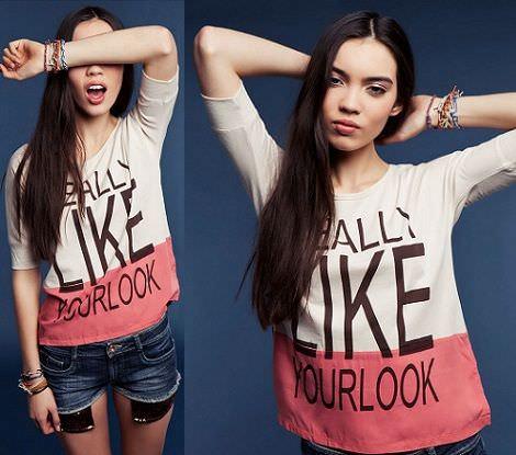 shorts y camiseta rosa de Bershka
