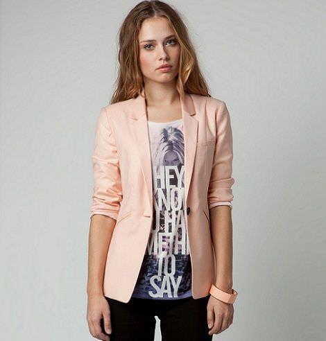 nueva ropa de bershka primavera blazer
