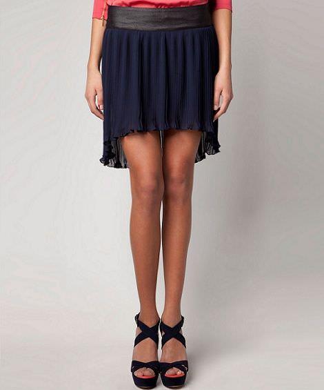 nueva ropa de bershka primavera falda asimetrica