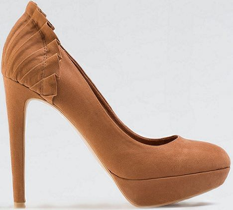 zapatos de bershka pliegues