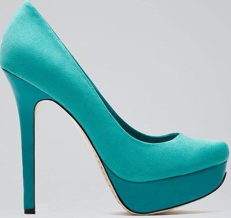zapatos de bershka verde