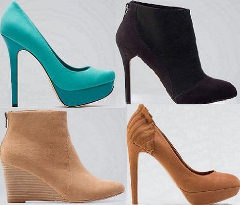 los nuevos zapatos de bershka para la primavera 2012