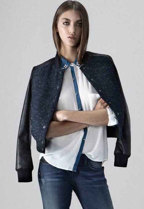 Bershka ropa del otoño 2012