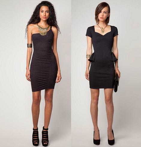 Vestidos de Bershka 2012