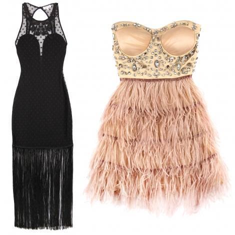 1914a5e85f440 Vestidos de Nochevieja de Bershka 2012 2013