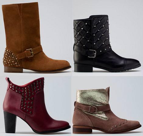 Zapatos Bershka otoño invierno 2012 2013