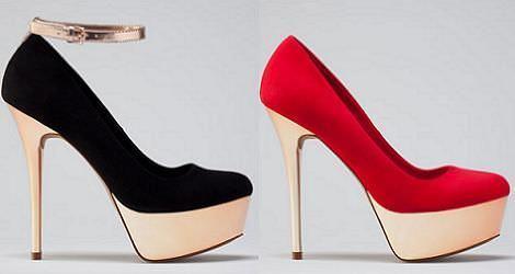 Zapatos de fiesta de Bershka 2012 2013
