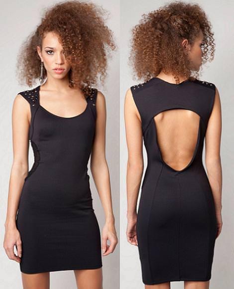 Nueva ropa de Bershka primavera 2012, Vestido de noche