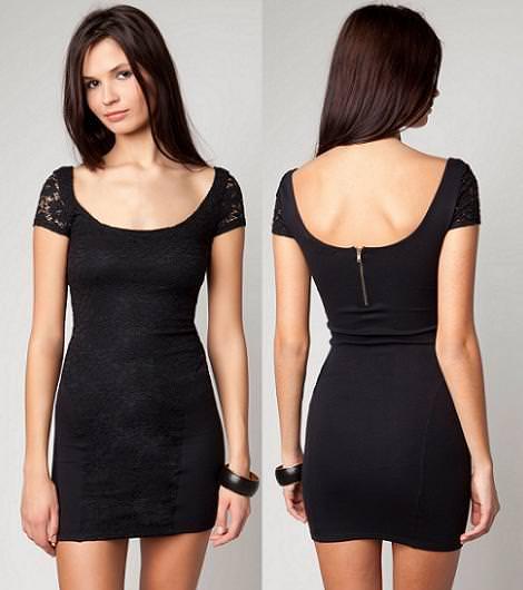 Nueva ropa de Bershka primavera 2012, Vestido de encaje