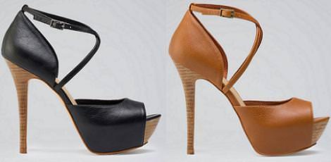 Nueva ropa de Bershka primavera 2012, zapatos