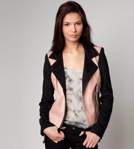 Nueva ropa de Bershka primavera 2012, Cazadora