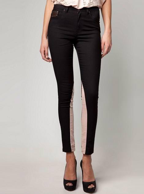 Nueva ropa de Bershka primavera 2012, Pantalones