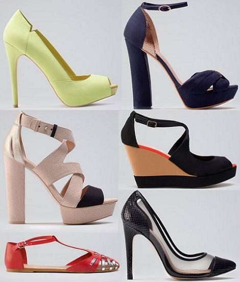 Bershka primavera 2012 zapatos