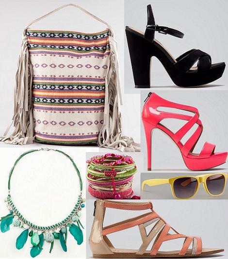 Bershka ropa verano 2012