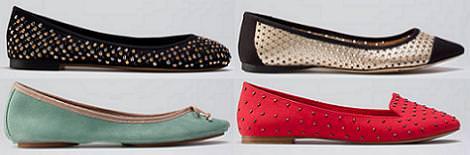 Bershka zapatos verano 2012 bailarinas