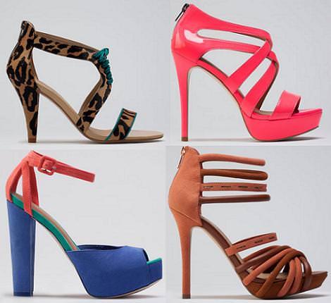 Bershka zapatos verano 2012 sandalias