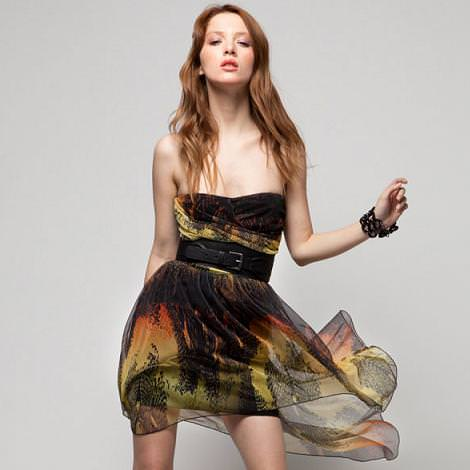 Vestidos Bershka primavera 2012