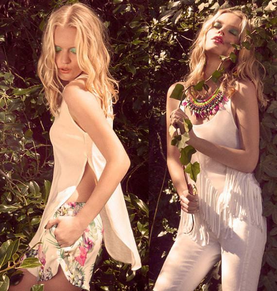Bershka primavera verano 2013 looks y tendencias