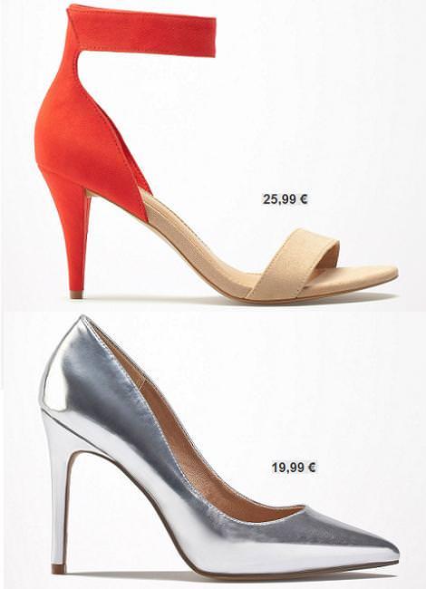 Bershka zapatos 2013 primavera verano