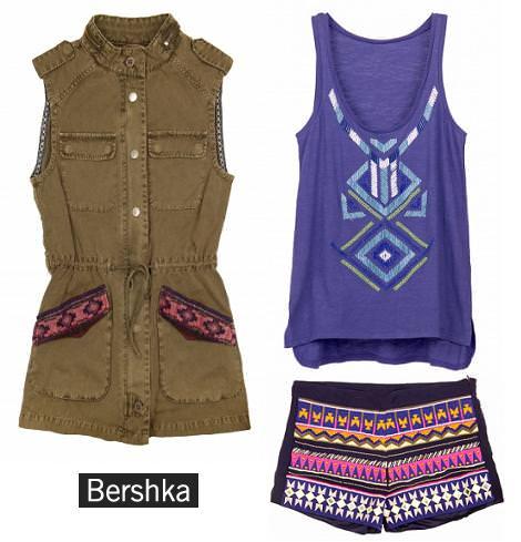 Ropa de Bershka primavera verano 2013