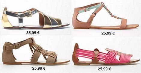5c377fefbd5af Zapatos Bershka primavera verano 2013