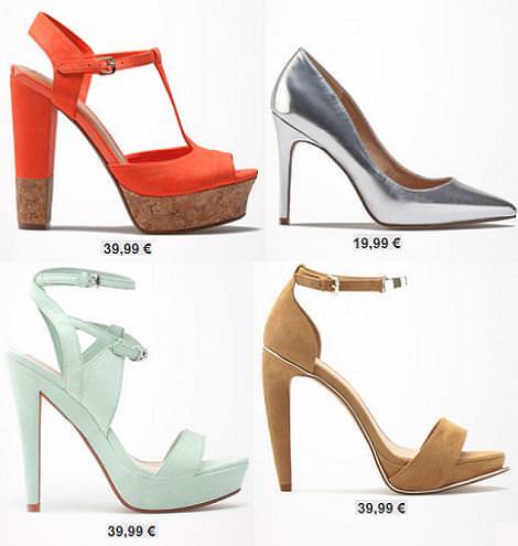 Bershka Primavera Verano 2014 Zapatos Zapatos Bershka Primavera