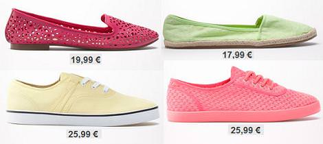 Zapatos Bershka primavera verano 2013