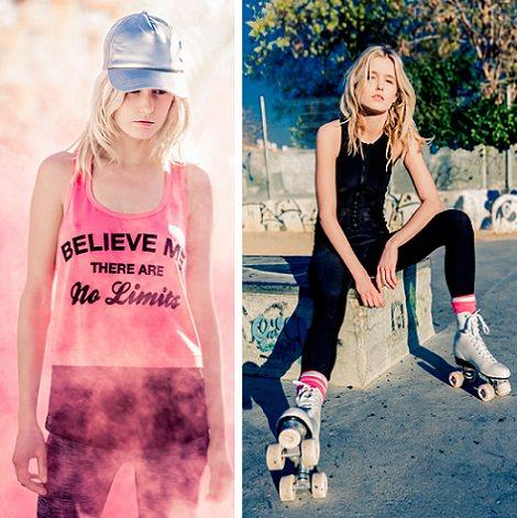 último estilo proporcionar un montón de diseño exquisito Colección de ropa deportiva de Bershka primavera verano 2014 ...