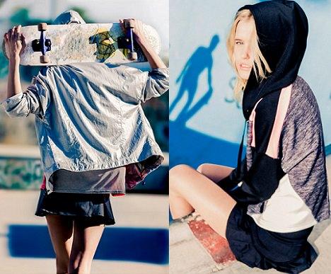 Colección de ropa deportiva de Bershka primavera verano 2014 Start Moving
