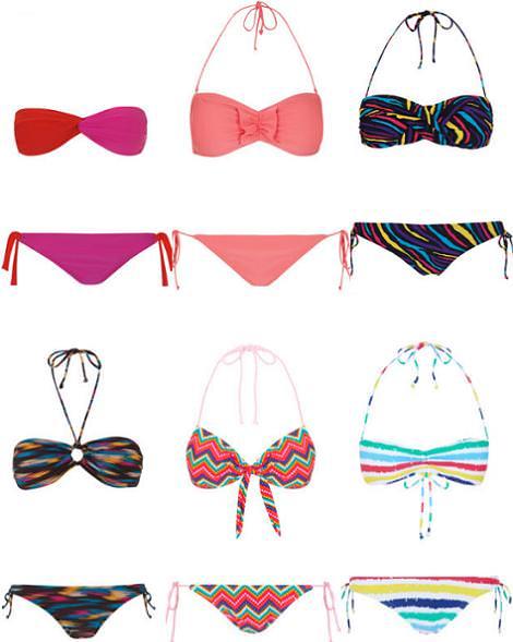 Bikinis 2012 de Blanco