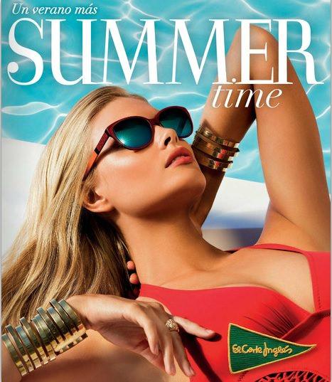 catálogo de bikinis y bañadores de El Corte Inglés primavera verano 2014