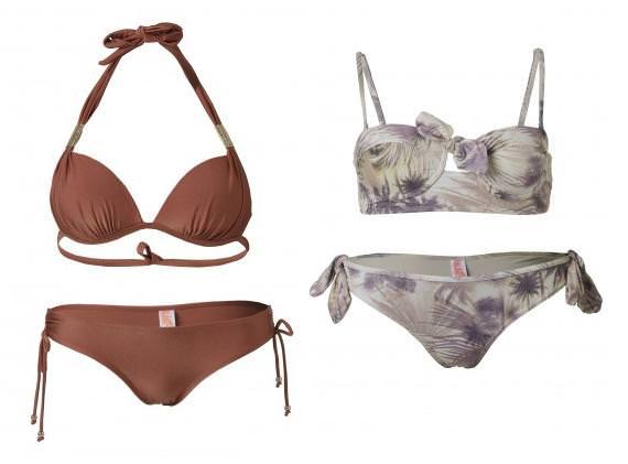 Bikinis push up 2013 con relleno