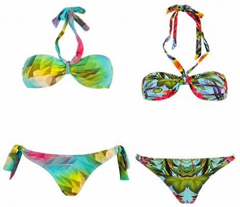 Bikinis y bañadores de BERSHKA 2013