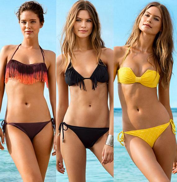 H&M colección bikinis 2013, moda baño y playa