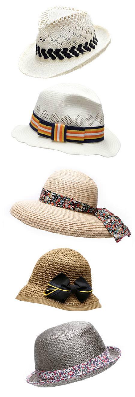 Tendencias primavera 2010: sombreros